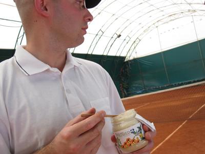 Tenis i olakšano disanje