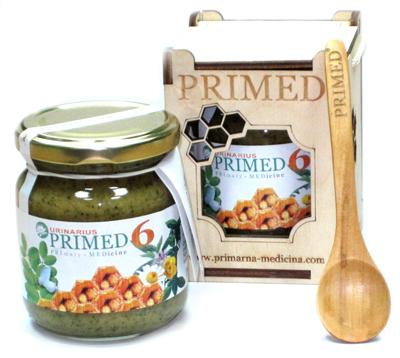 Primed 6 urinarius